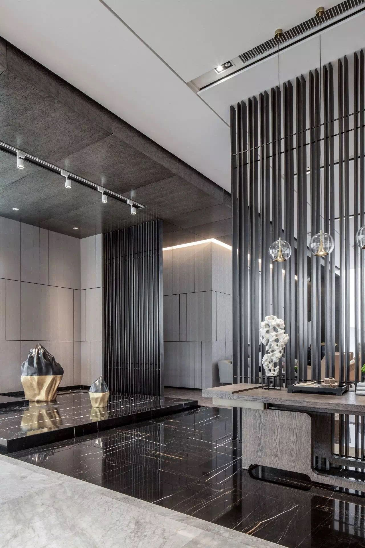 Home Lobby Interior Design Royalty Free Stock Photos: Pin By 冯宁 Ning On A 接待区 In 2019
