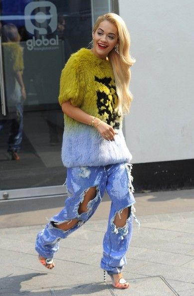 #ritaora #denim