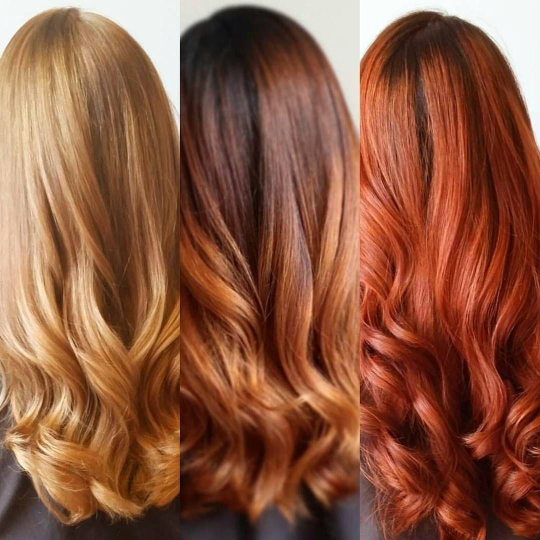 Beautiful red tones long hair styles hair hair styles