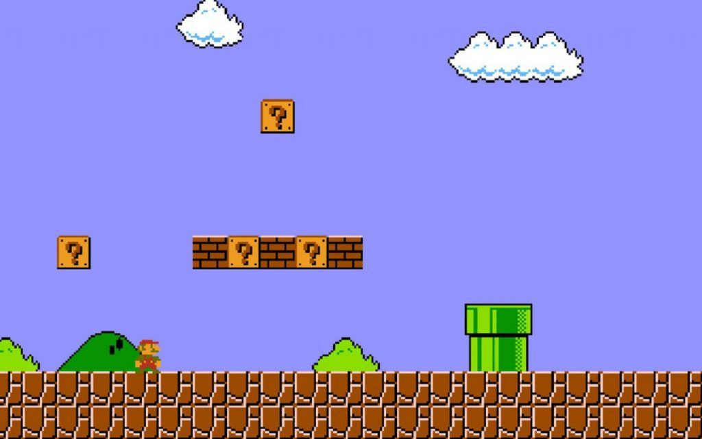 new super mario bros background hd