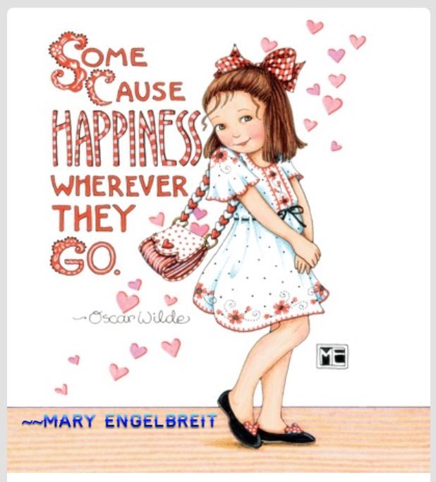 (❤・⊿゚)ノ                                                       Mary Engelbreit