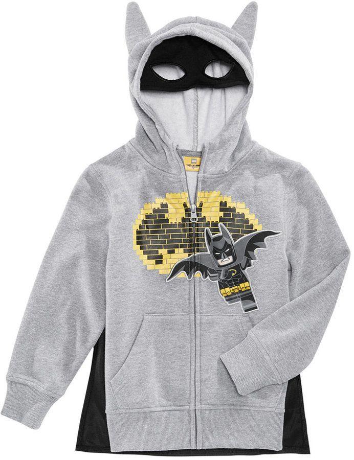7db0d3d83ac6 Dc Comics Lego Batman Hoodie  kidsfashion. Dc Comics Lego Batman Hoodie