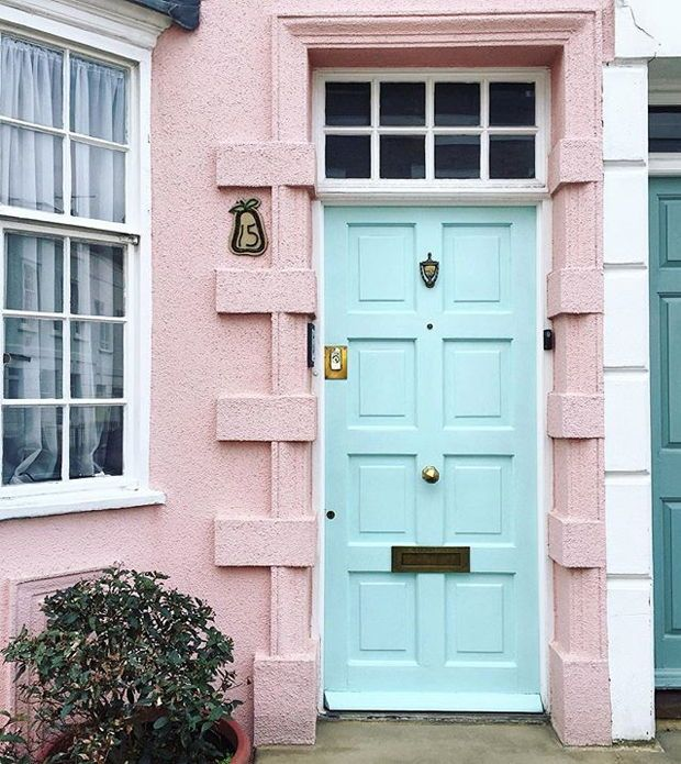 Get Front Door Paint Color Ideas From Londons Most Beautiful