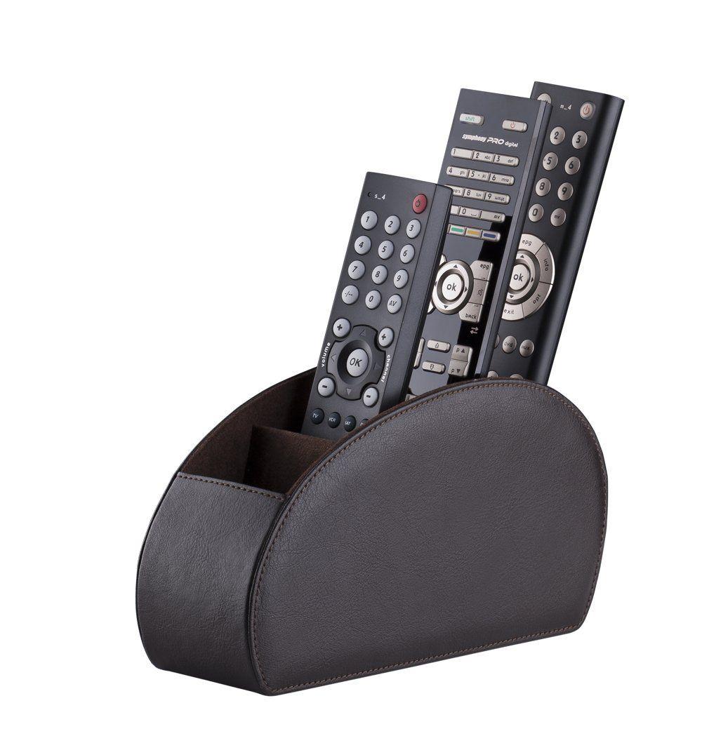 Remote Control Holder TV Remote Caddy Desktop Organizer 5 Compartments
