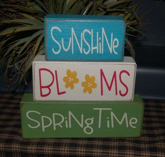 Featured 5 Spring Projects: NEW Sunshine BLOOMS Springtime Easter Spring By
