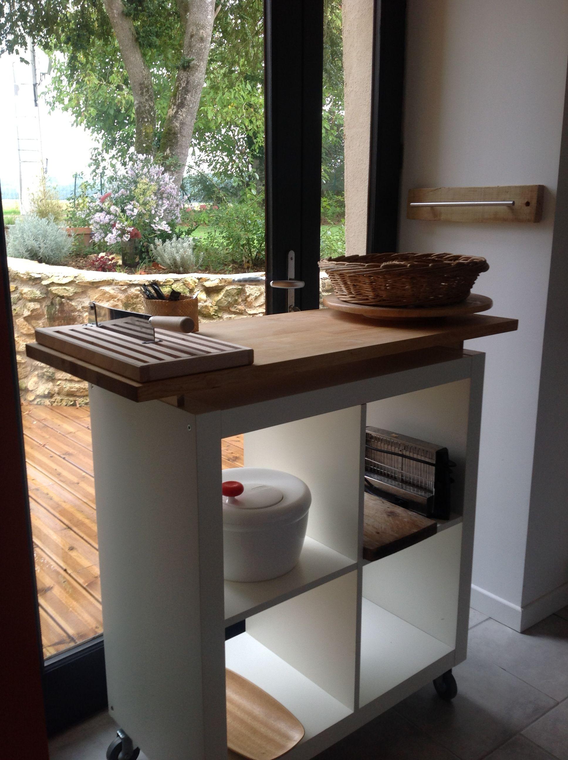 Meuble ikea transforme en desserte roulante deco meuble meuble desserte - Ikea desserte cuisine ...