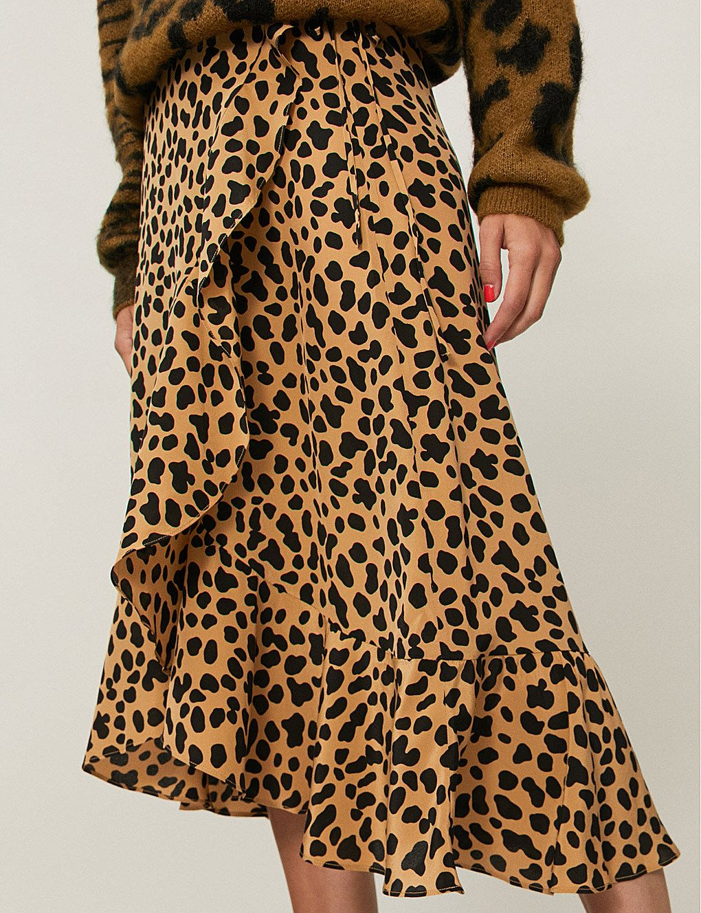 f7918e15edee Gracie leopard-print silk-crepe skirt in 2019 | SUMMER 19 ECOMM_BUY ...