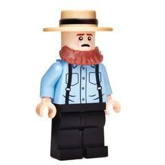HAMBURGLER McDonald/'s Restaurant Minifigure **NEW** LEGO Custom Printed