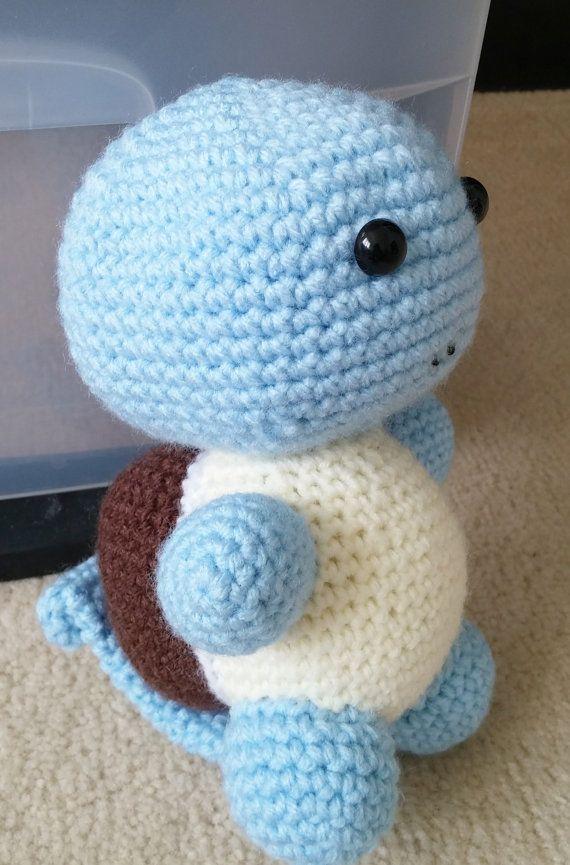 Crochet Squirtle Pattern pokemon amigurumi by TiggyPatterns ...