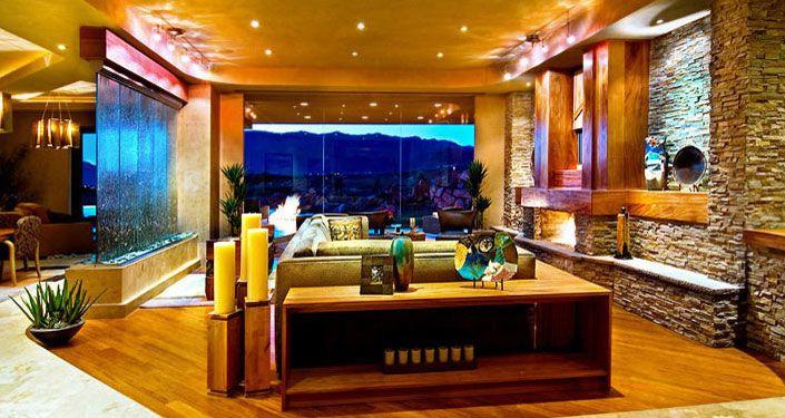 Paredes de agua area relax pinterest paredes de for Cascadas de agua para interiores