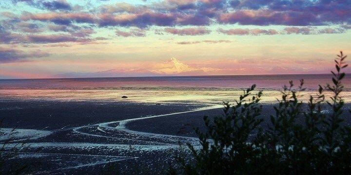 Beach, Alaska, USA