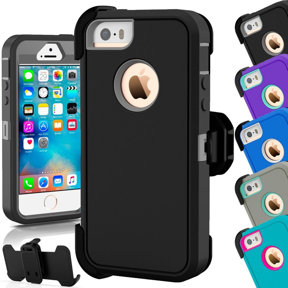 sports shoes d5279 94f54 The best For Apple iPhone 5C 5 5S SE Shockproof Hard Case Cover ...