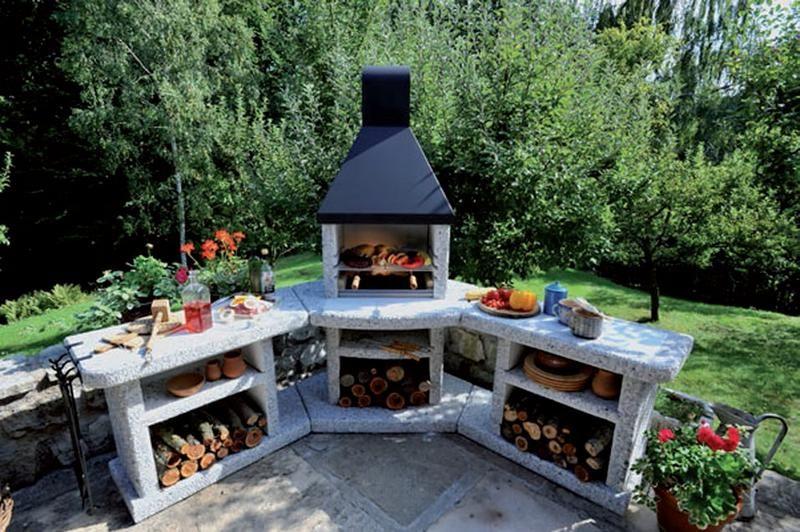 grill murowany Szukaj w Google Outdoor grill, Outdoor