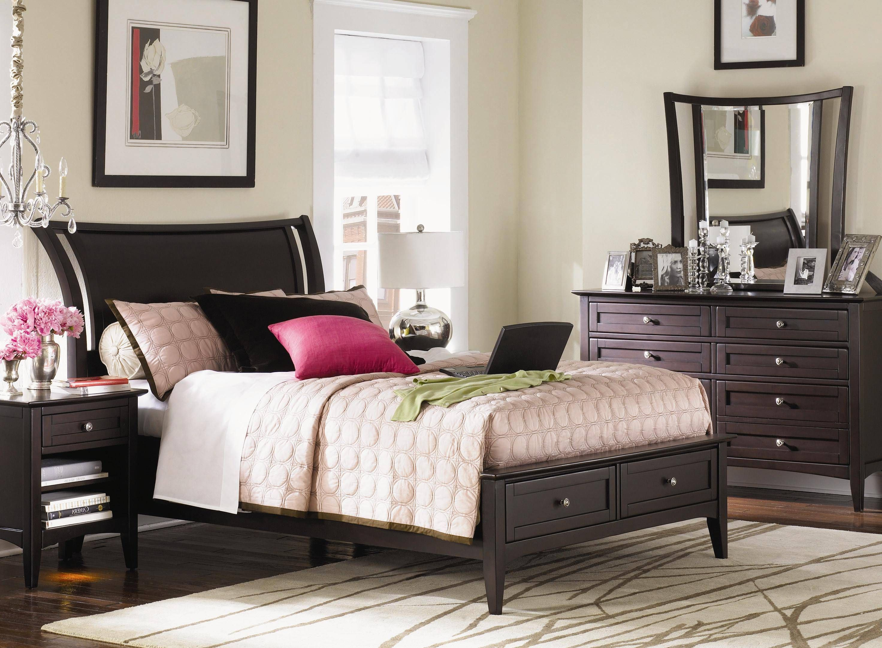 Kensington Sleigh W Storage King Bedroom Group Gp B355 Guest Room Furniture Furniture Living