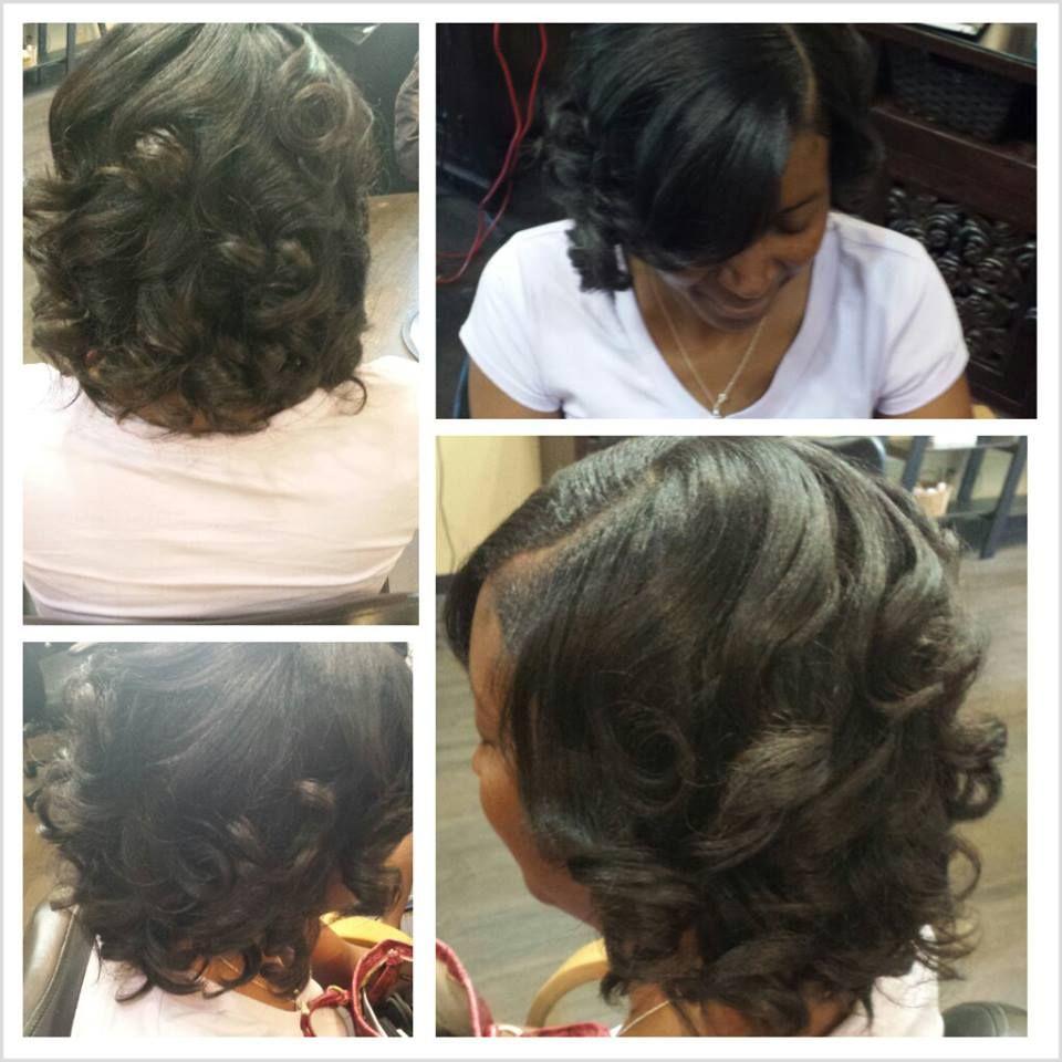 Fresh Relaxer Mixed Hair Haute Hair Gorgeous Hair
