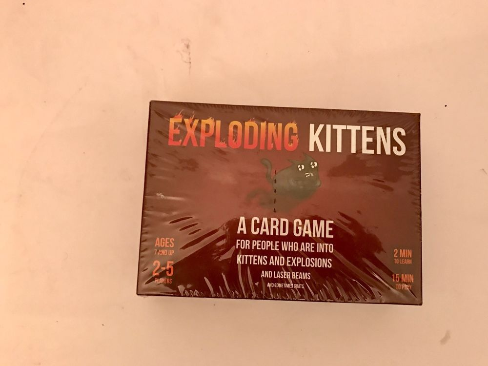 Exploding Kittens A Card Game About Kittens And Explosions And