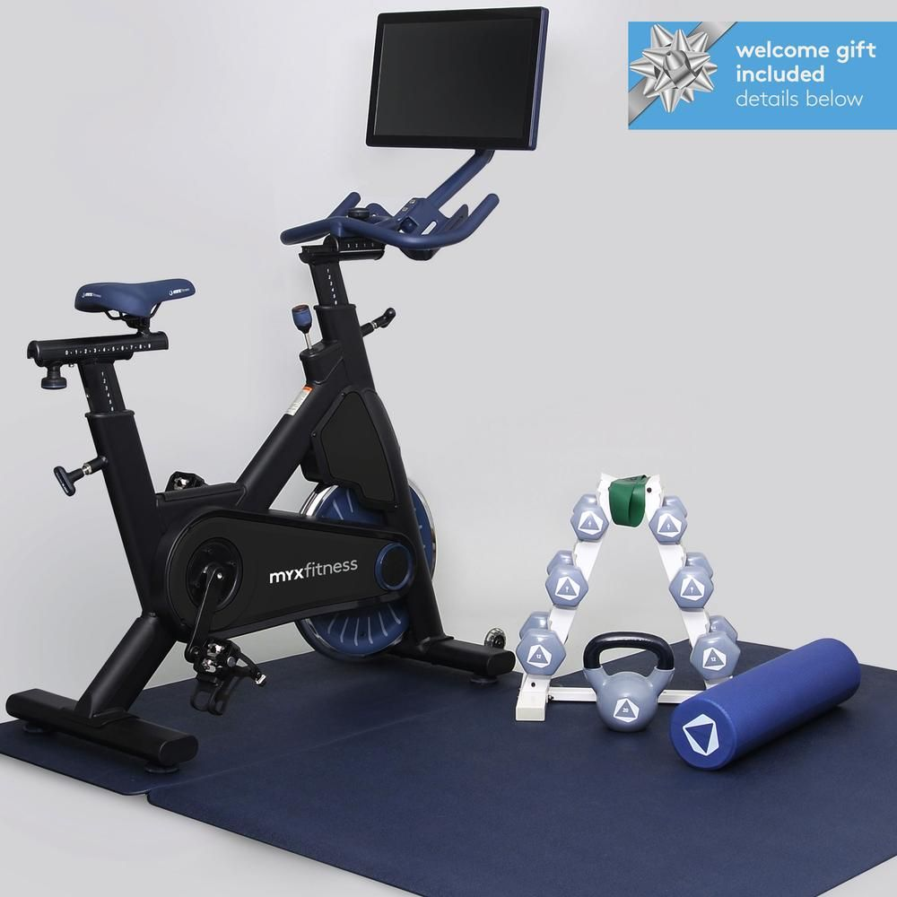 The Myx Plus Bike Trainer Total Body Workout Fitness Body