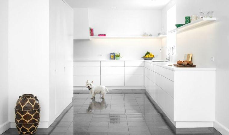 La cuisine blanche dans toute sa splendeur | Cuisine blanche ...