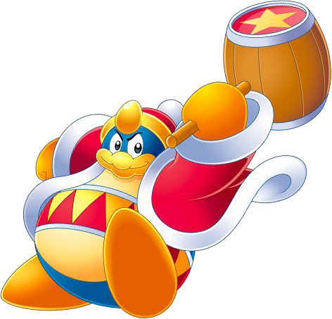 King Dedede Kirby King Playable Character