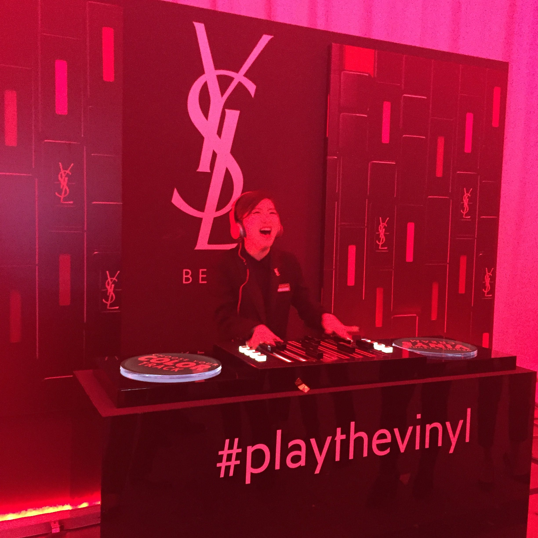 Scenes YSL Beauty Launch Party Beauté