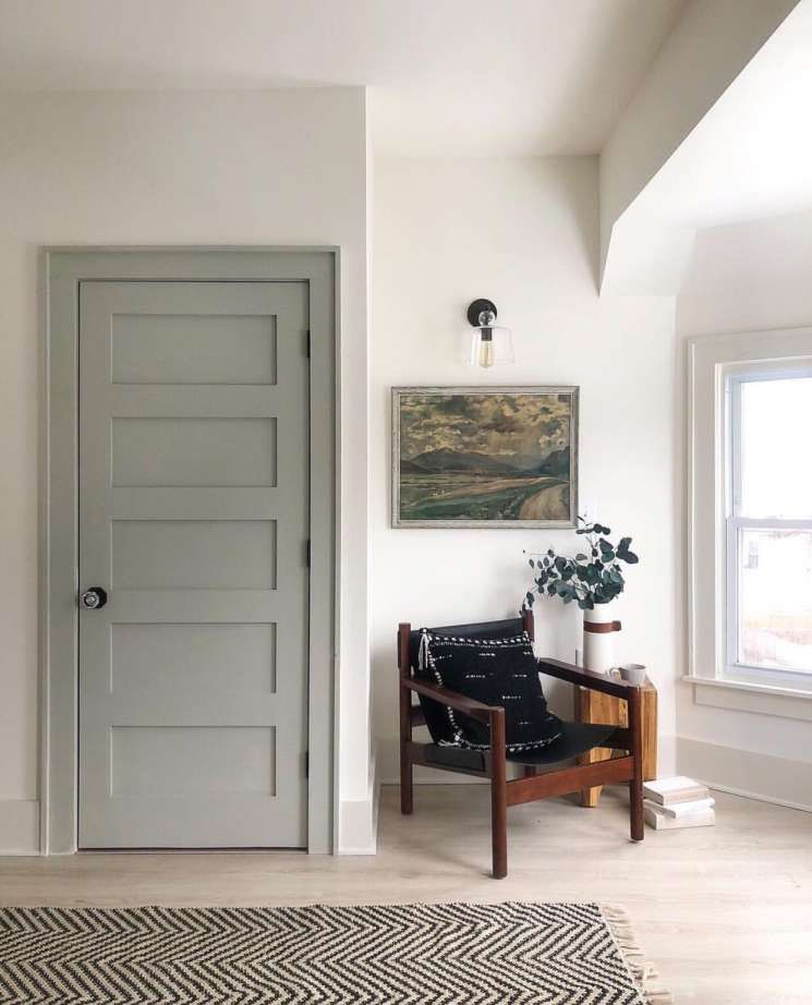 Beautiful What Color Door Jamb In A White Living Room And Pin On Kitchen Bath Surfaces Final In 2020 Interior Paint Combinations Doors Interior Grey Interior Doors