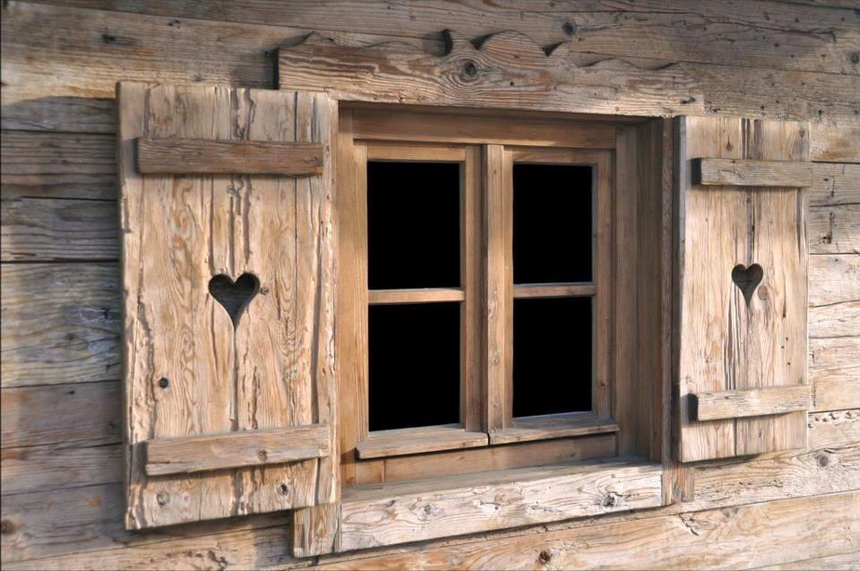 Heart Cut Out Shutters Doors Windows Pinterest Cabin Doors And House