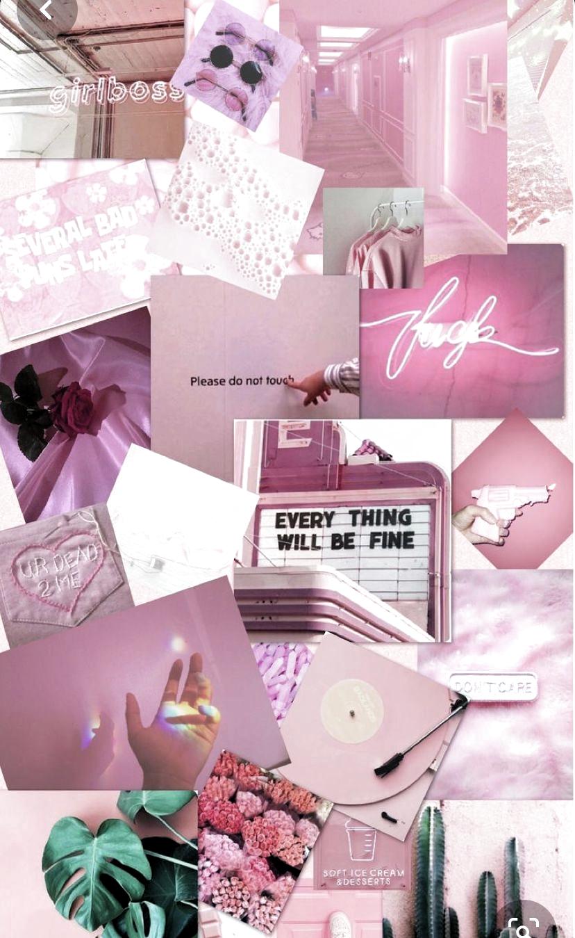 Y2k Aesthetic Wallpaper Pink Desktop