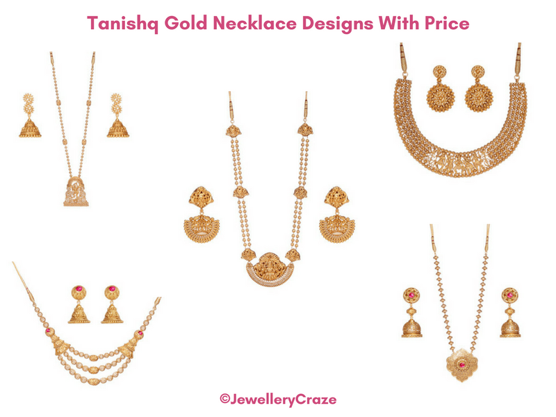 Tanishq Gold Necklace Designs With Price For Every Occasion Gold Necklace Designs Gold Necklace Jewelry Patterns