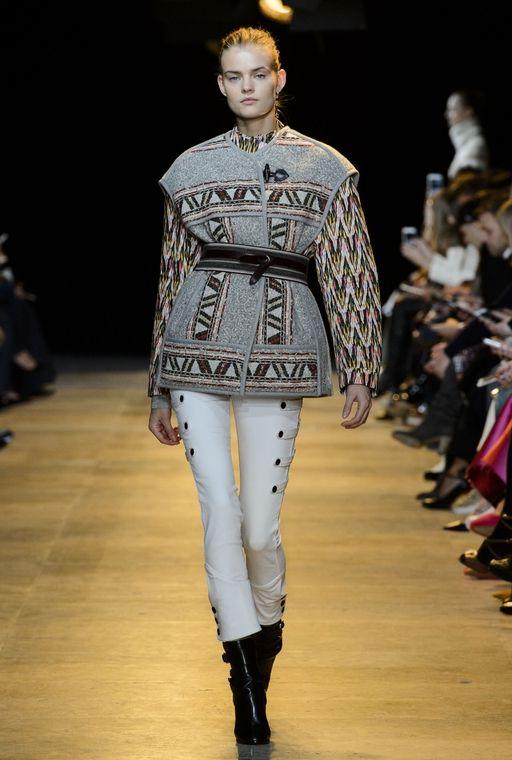 7d770b9d92a Paris Fashion Week: Isabel Marant Autumn/Winter 15   Buro 24/7 ...