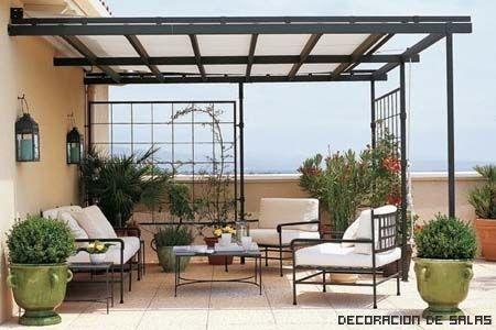 Terrazas techos policarbonato buscar con google - Techado de terrazas ...