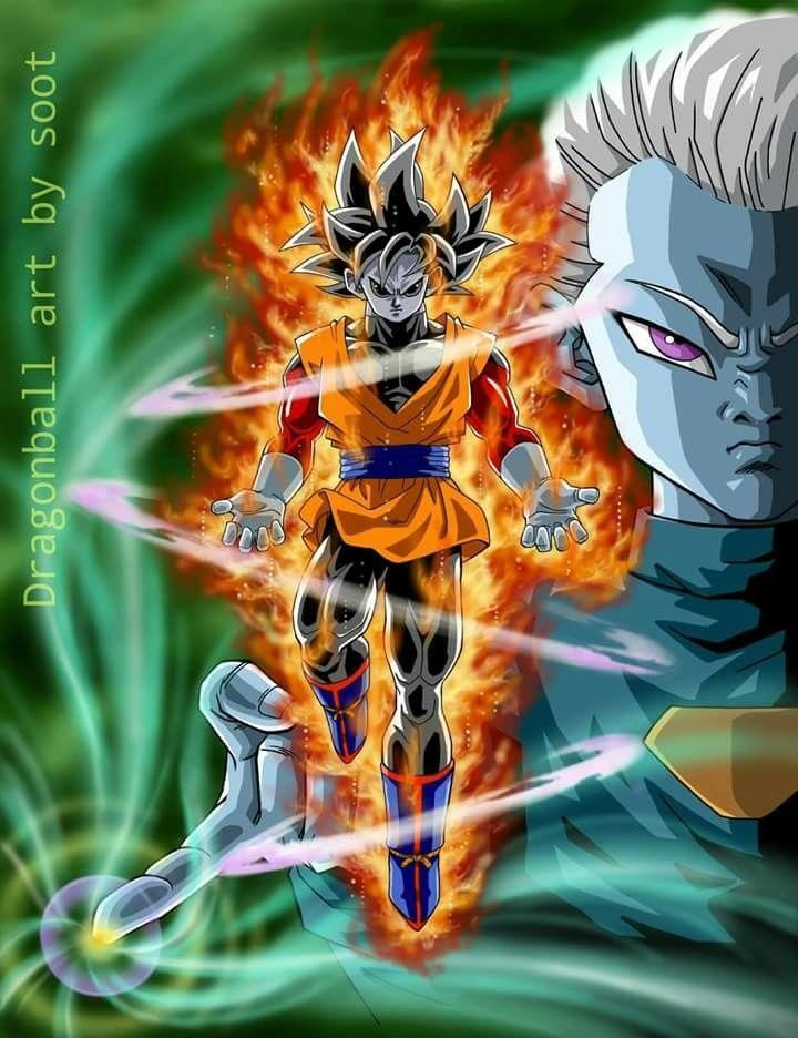 Goren O Jitta Fusion De Goku Y Jiren Personajes De Goku Personajes De Dragon Ball Dragones