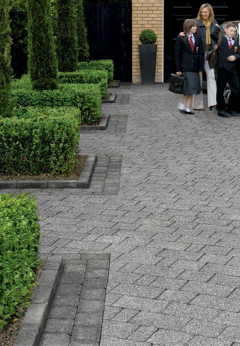 Drivesett Kerb In 2020 Back Garden Design Driveway Landscaping