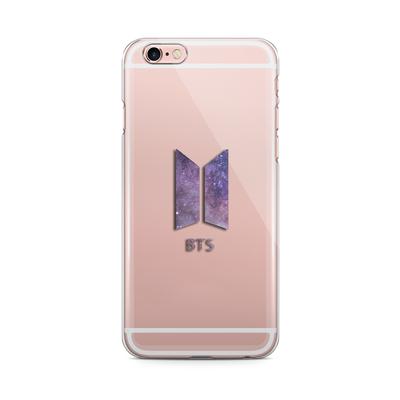 Bts New Logo Galaxy Transparent Transparent Case Case Phone Cases