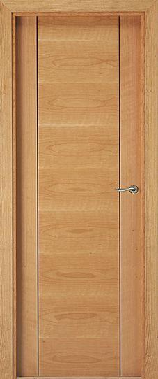 Sarrio puertas de madera modernas eurodoor door for Puertas madera interiores catalogo
