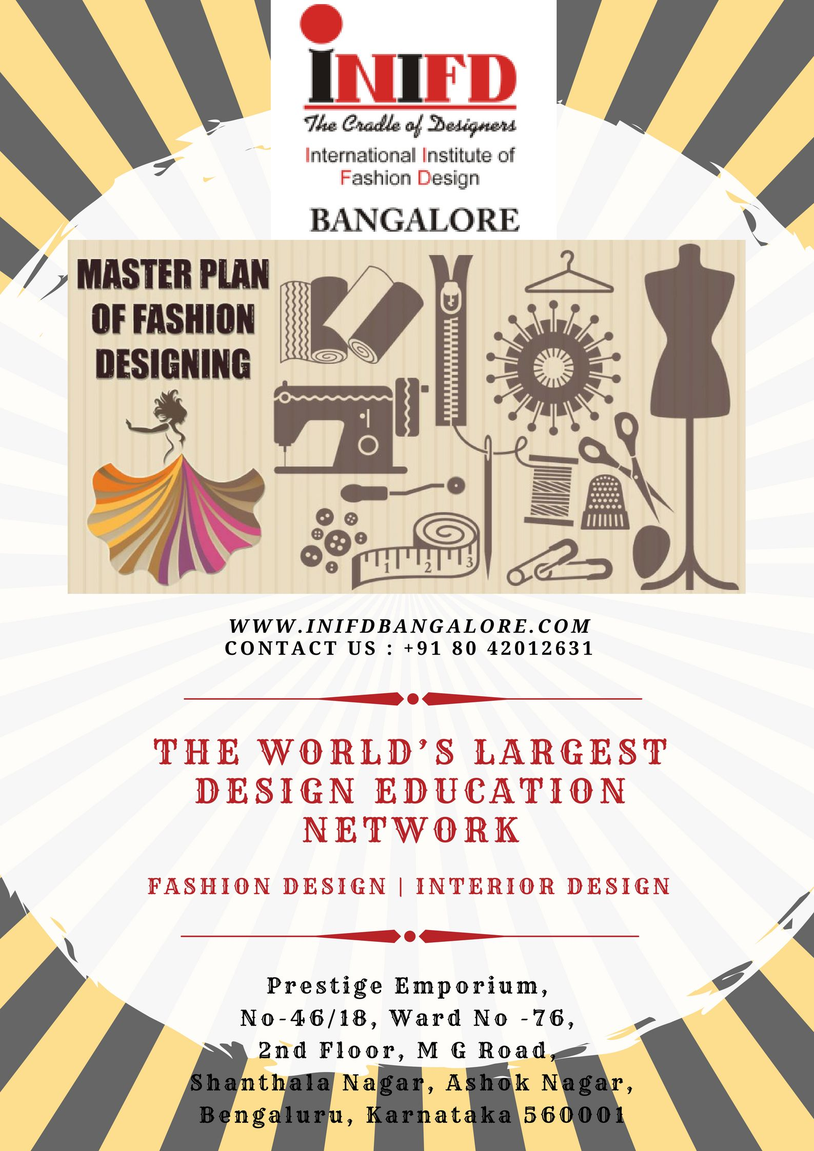 Top Fashion Interior Designing Courses In Bangalore Interior Design Courses Fashion Designing Colleges Education Network