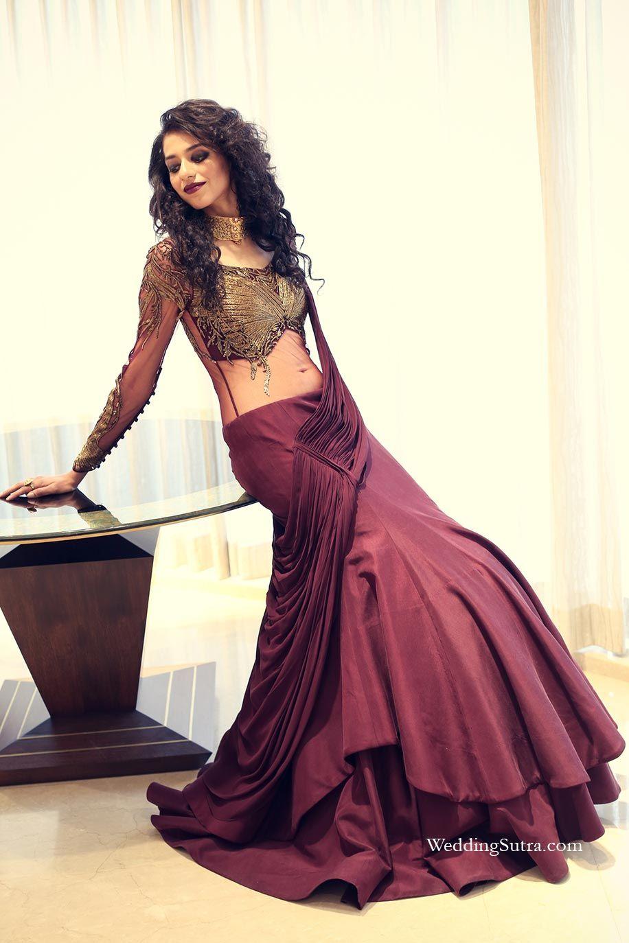 Aashumi mehta indian wear saree and indian designer wear