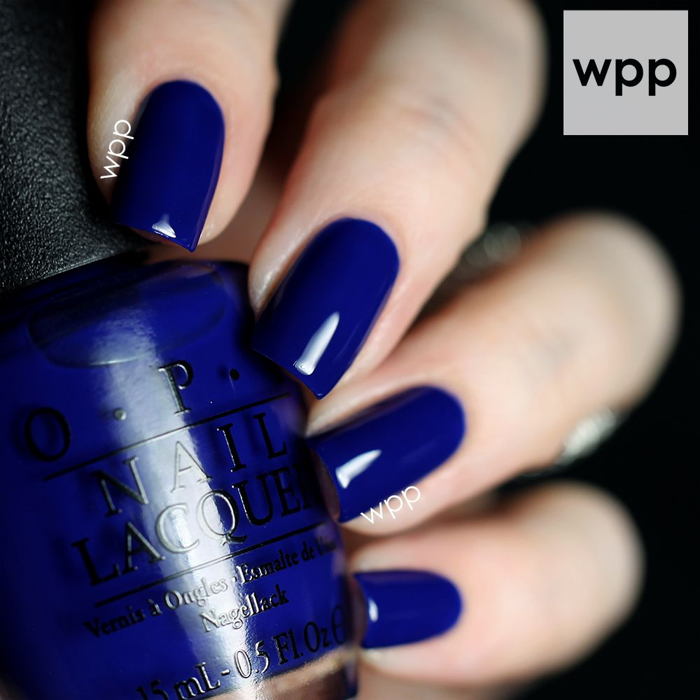 OPI Brights Collection • My Car Has Navy-Gation | Nails & Make-up ...