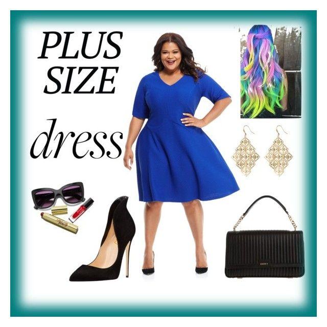 Plus Size Dress By Samra Dzabija Liked On Polyvore Featuring