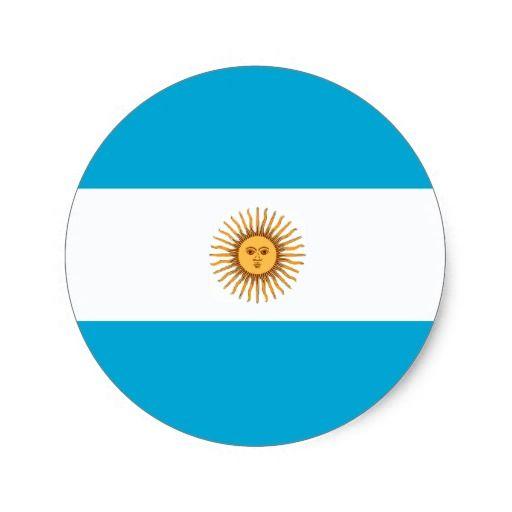 Argentina argentinian flag sticker