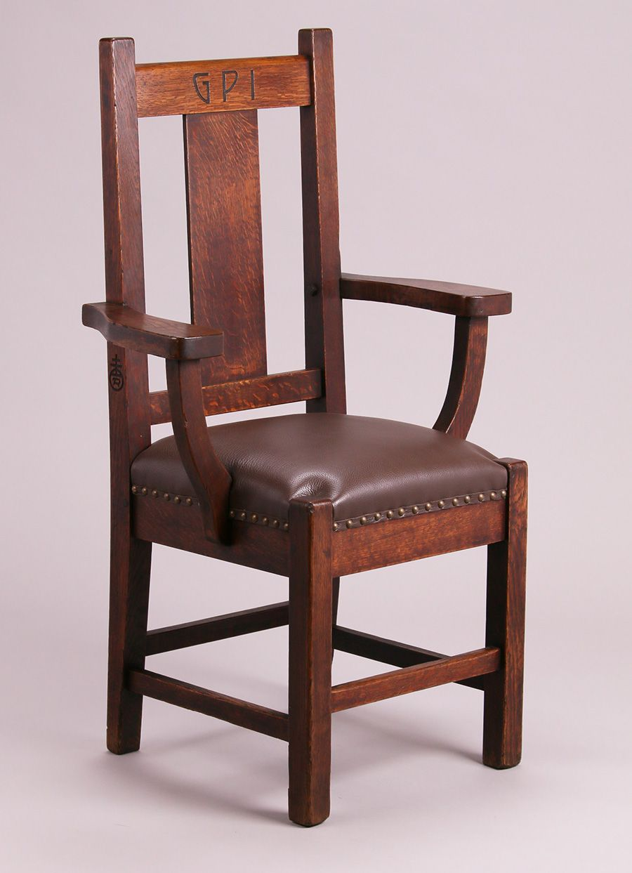 Roycroft Gpi Armchir Craftsman Style Furniture Roycroft Arts