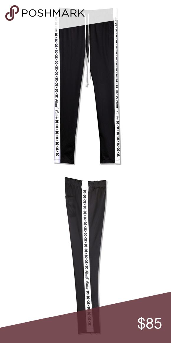 0d8b24789b97 Black P CROSS Slim-fit   super stretch polyester track pants in black