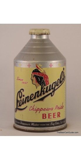 Leinenkugel's Chippewa Pride Beer Can {source: The Beer Can Guide}