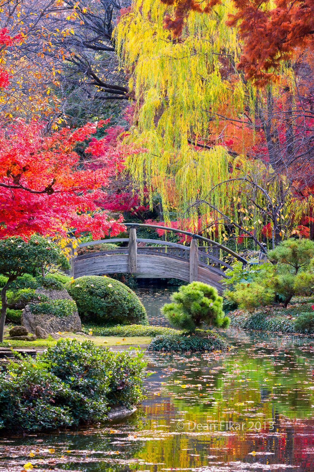 Puente de la luna en los jardines japoneses japon pinterest jardines japoneses puentes y - Fotos jardines japoneses ...