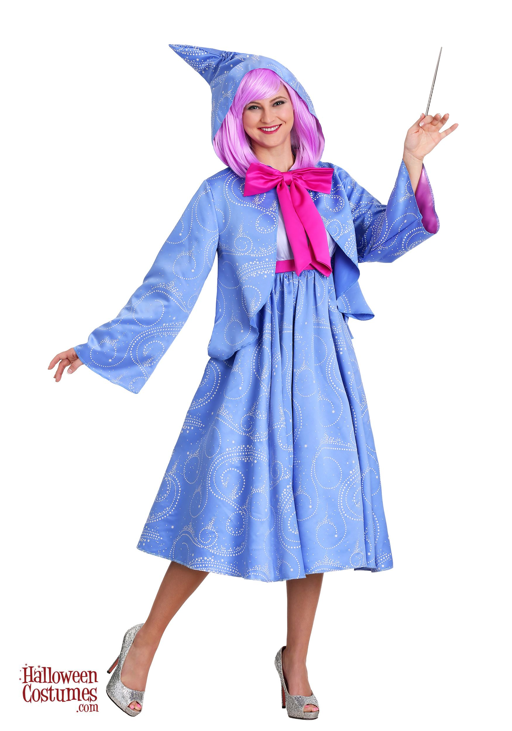ec7f6bfcfb Disney Cinderella Fairy Godmother Women s Costume - Exclusive ...
