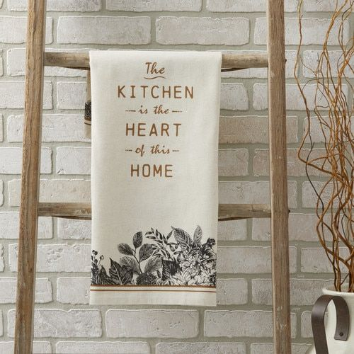 Pleasant Heart Of The Home Tea Towel Gifts For Moms Tea Towels Home Interior And Landscaping Eliaenasavecom
