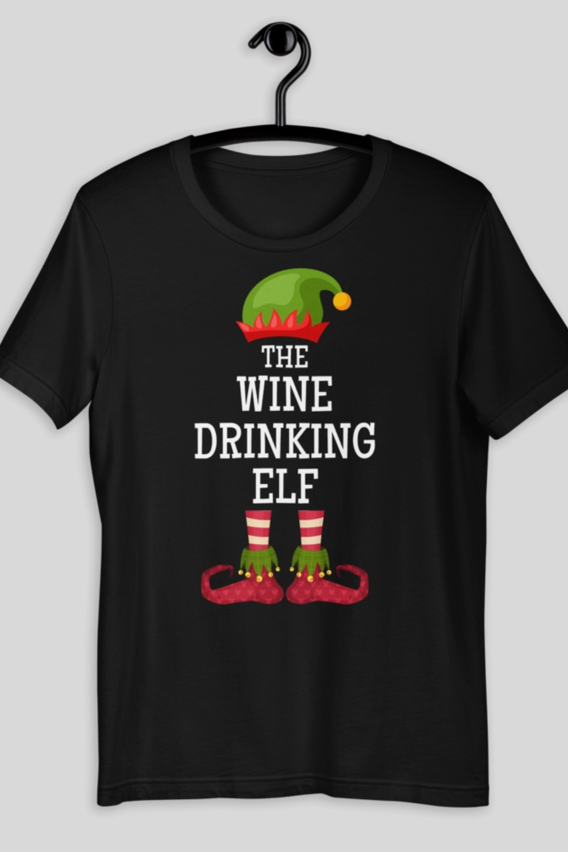 Wine Christmas Shirt Outfit, Funny Christmas Shirt