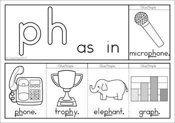 Digraph Ph Phonics Word Work Multiple Phonograms Phonics Words Phonics Digraph