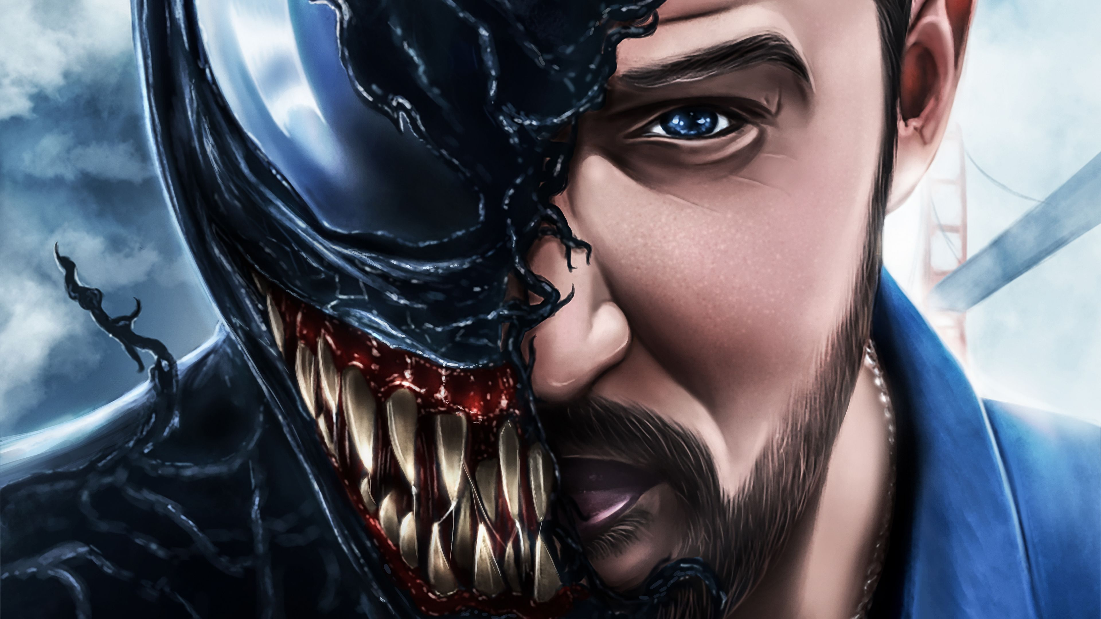 Venom Movie Artwork 4k 2018 Venom wallpapers, venom movie ...