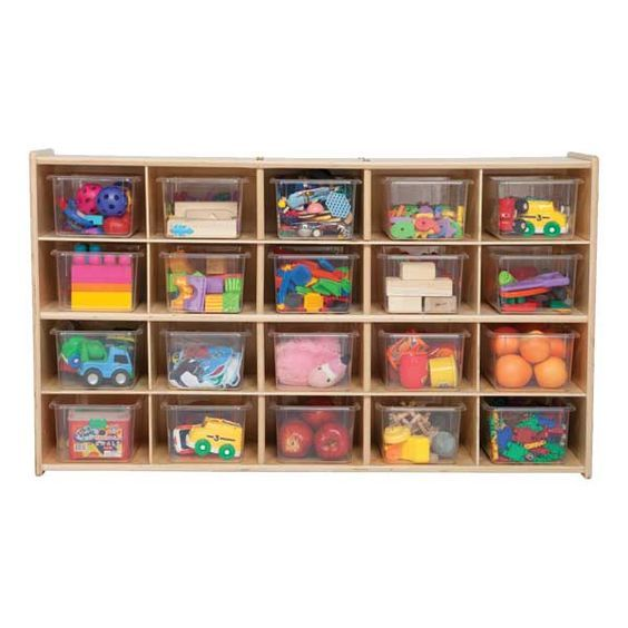 Clear Plastic Storage Containers For Art Supplies U0026 Manipulatives   Allows  The Children To Easily View
