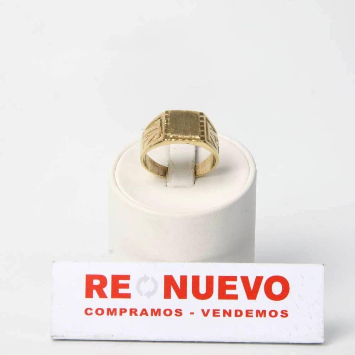 57bfbca022bd Sello oro de segunda mano para caballero de 18 quilates E273033 ...